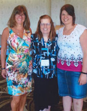 Elizabeth Nicholas, Sandy Novroski, and Priscilla Tremblay photo